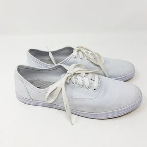 Mossimo Canvas White Sneakers